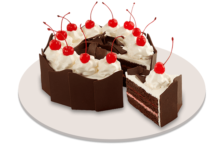 Layers Of Decadent Moist Chocolate Fudge Cake Layered With Fluffy Cream And Delectable Cherry Filling Topped Chocolates Cherries